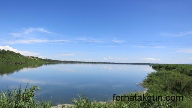 Schönheit des Lake Bunyonyi