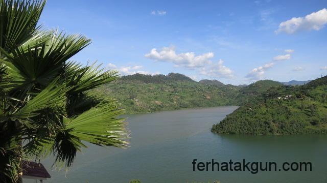 Aussicht des Lake Kivu