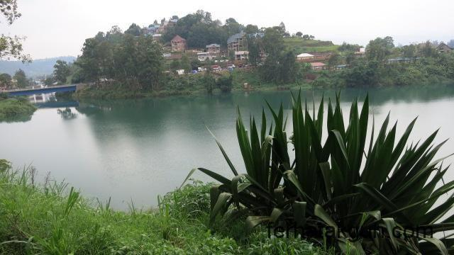 Blick in Richtung Kongo