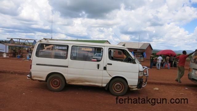 Mit dem Minibus nach Nyakanazi