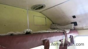 Mein Bett im Zug nach Mwanza