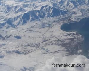 Vansee, Vangölü, Türkei, Türkiye, Flug, Emirates, Wolken, Sky, Flight, Clouds,