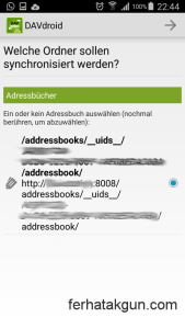 Found addressbook