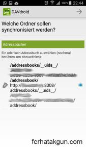 Found addressbook