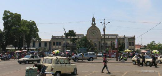 Bahnhof Tana Madagaskar