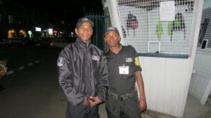 Antananarivo - Bahnhof Sicherheitsleute
