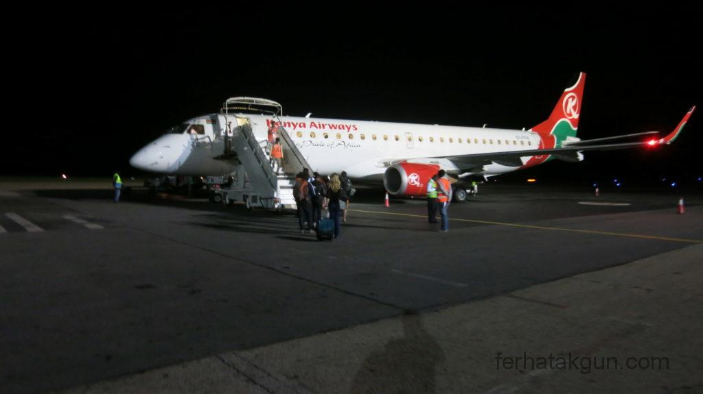 Ivato - Boarding Kenya Airways