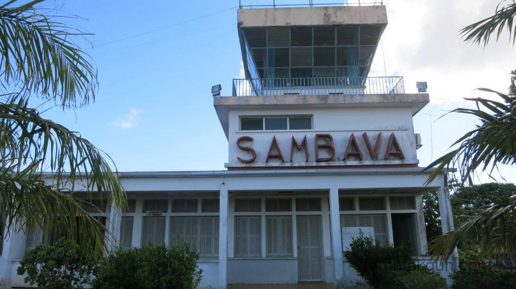 Sambava - Hauptgebäude vom Flughafen