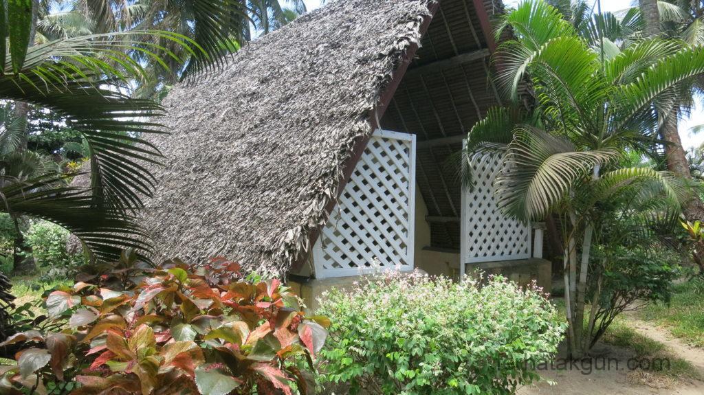 Toamasina - Bungalow im Hotel Marotia