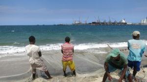 Toamasina - Fischer fischen 2