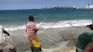 Toamasina - Fischer fischen 3