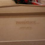 Pierre Curie grave