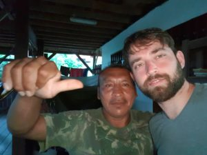 Wayapi Indianer und ich