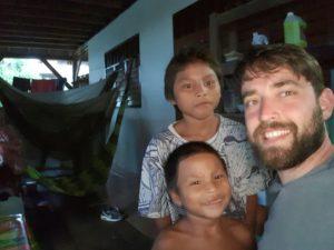 Wayapi Kinder und ich