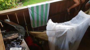 Schlafplatz im Oyamac