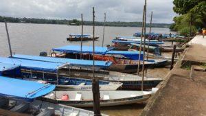 Boote für die Überfahrt