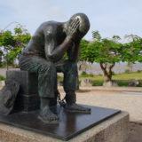 Statue Gefangener