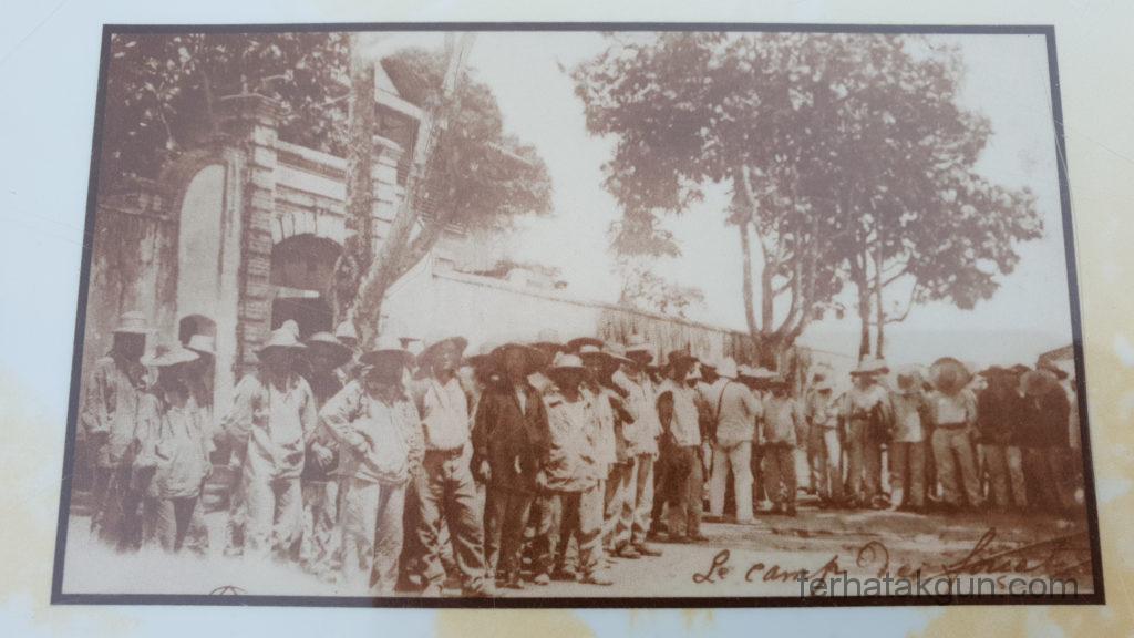 Bild Gefangener Camp de la Transportation