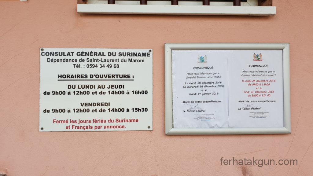 Saint Laurent Konsulat Öffnungszeiten