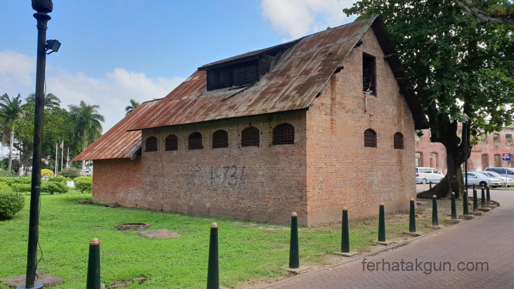 Paramaribo Fort Zeelandia Altes Gebäude