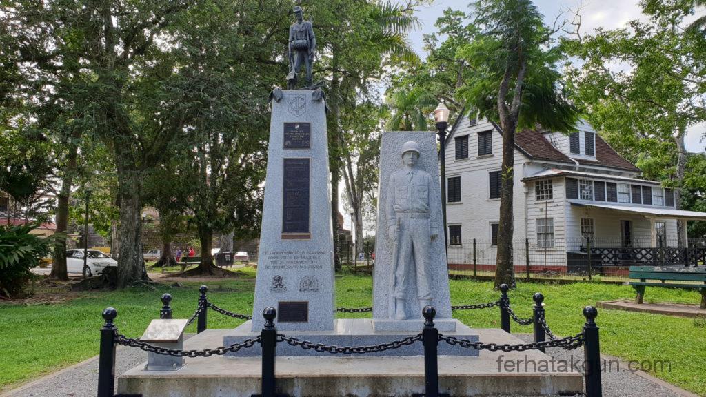 Paramaribo Denkmal Fort Zeelandia