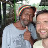 Nieuw-Nickerie - Mit Rasta am Markt