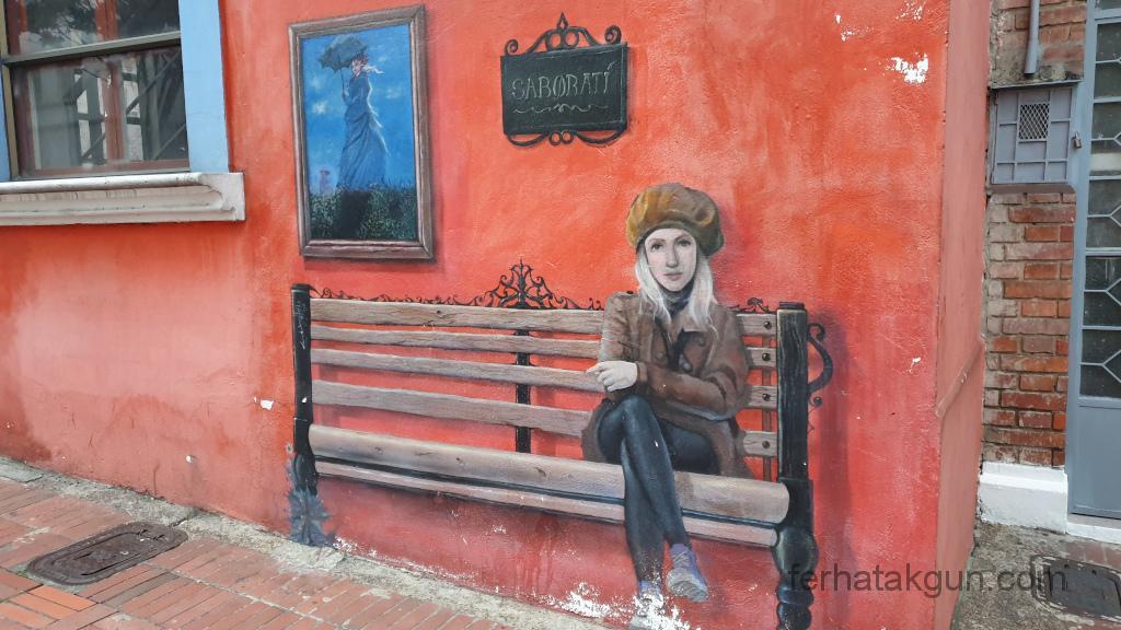 Bogota - Kunst auf Hauswand