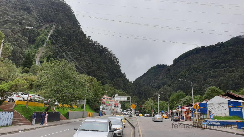 Bogota - Monserrate unten am Fuß