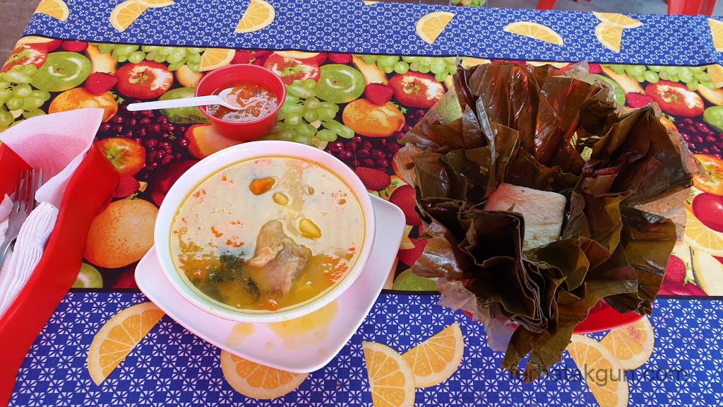 Bogota - Monserrate lokales Essen