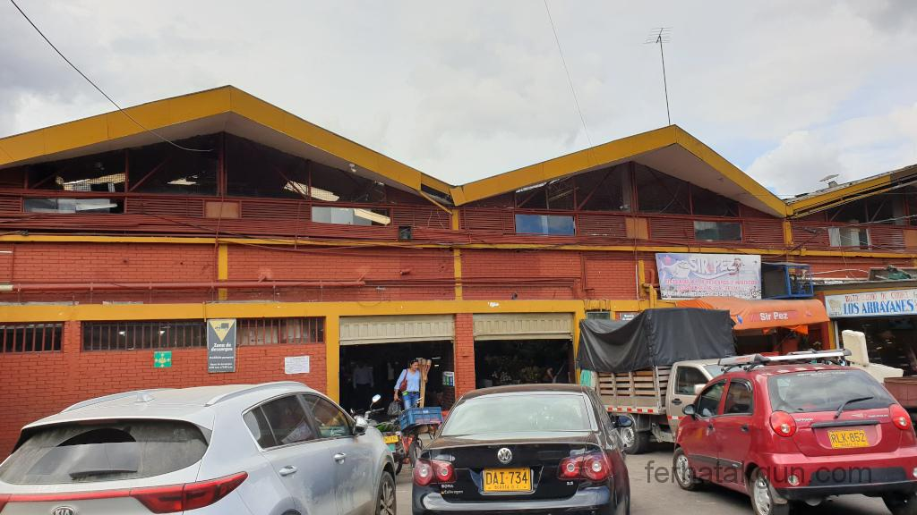 Bogota - Plaza de mercado 7 agosto