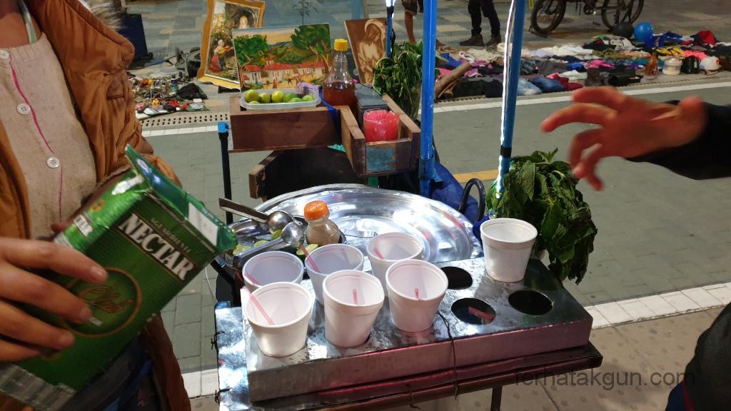 Bogota - Street Food Canelazo