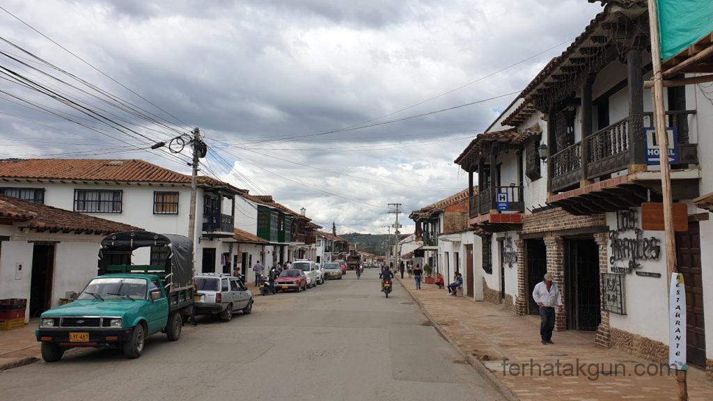 Villa de Leyva - Richtung Außengrenze