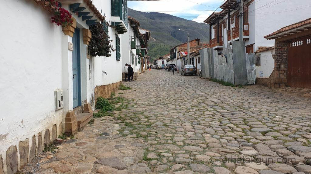 Villa de Leyva - Straßen
