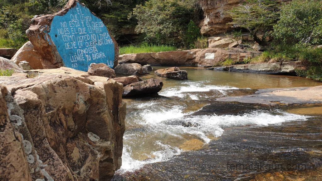 El Balneario Pozo Azul - Becken