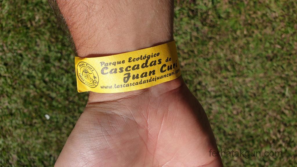 Cascada de Juan Curi - Eintritt 9000 Peso