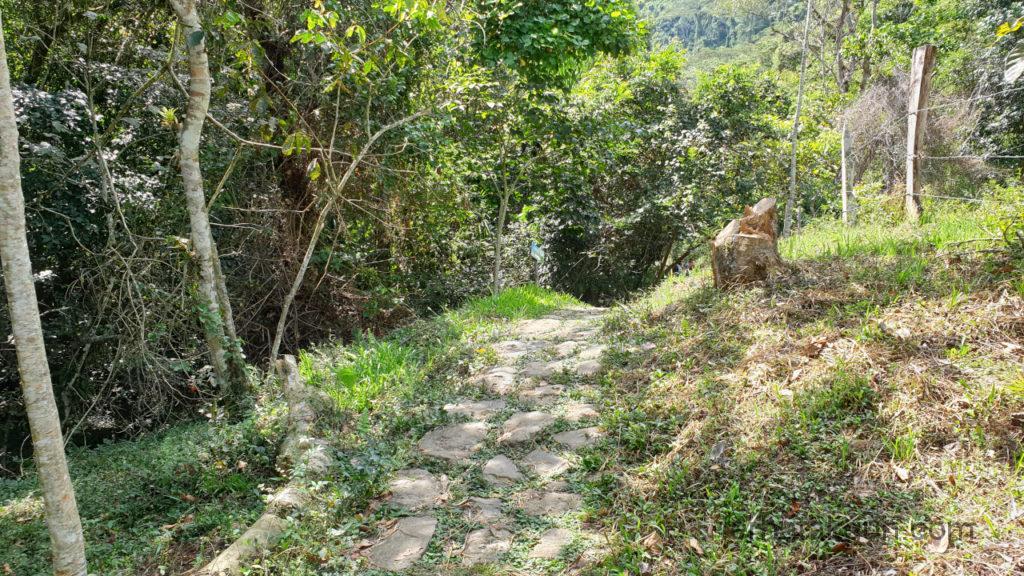 Cascada de Juan Curi - Auf dem Weg