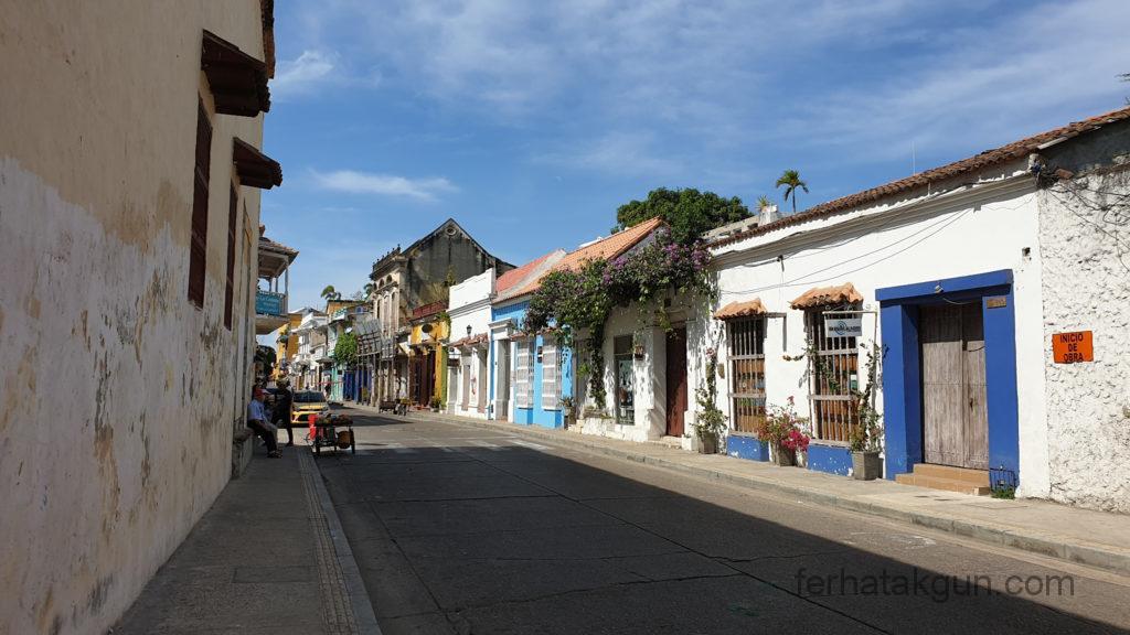 Cartagena - Straße in Cartagena