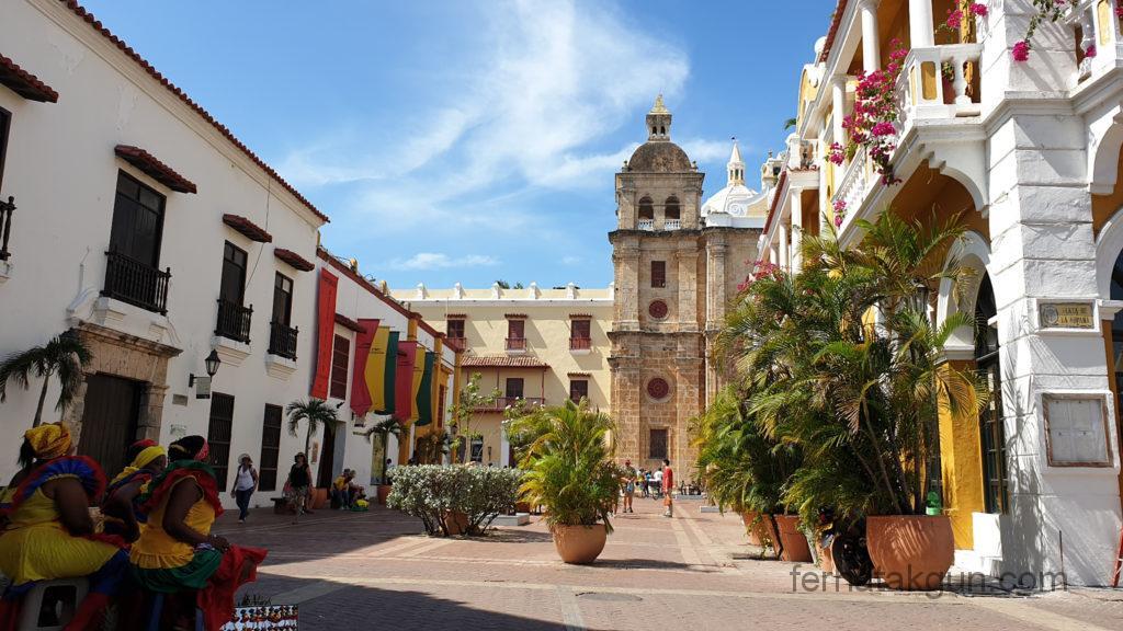 Cartagena - Historische Gebäude in der Altstadt