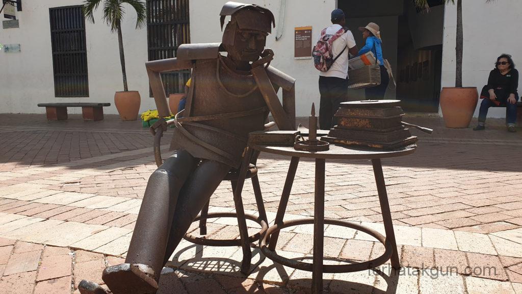 Cartagena - Moderne Kunst in der Altstadt