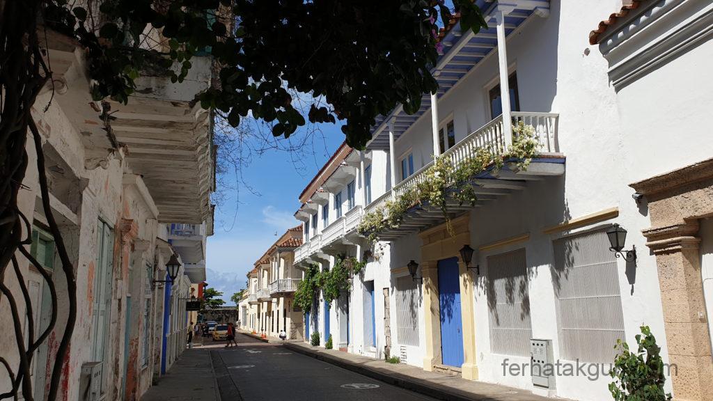 Cartagena - Altbau in der Altstadt