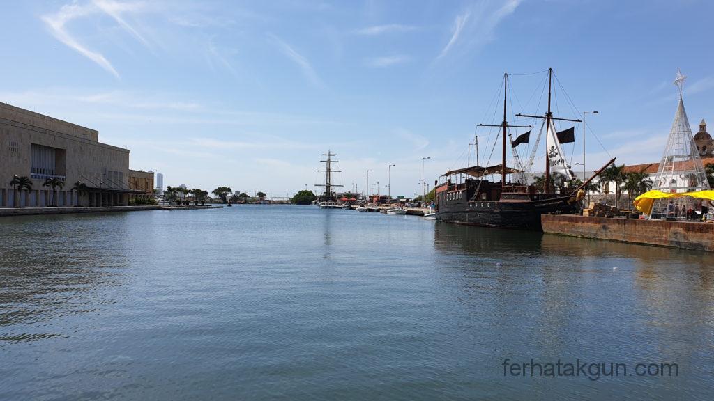 Cartagena - Anlegeplatz für Schiffe