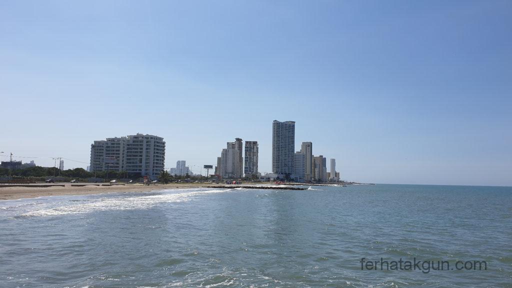Cartagena - Hochhäuser