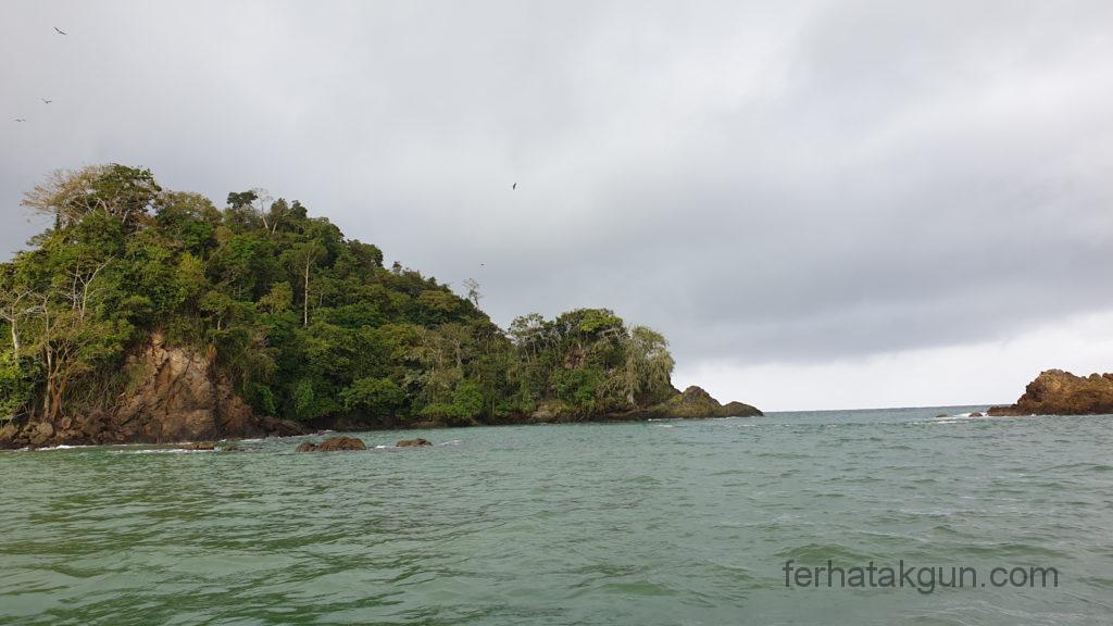 Sapzurro - Meer und eine kleine Insel