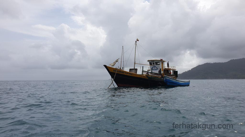 Sapzurro - Boote an der Küste
