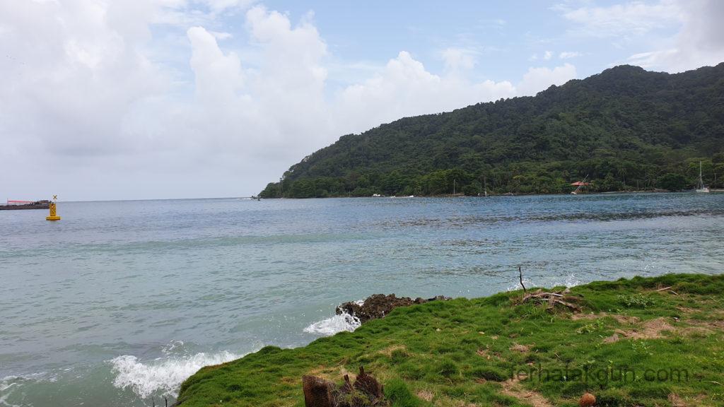 Sapzurro - Blick aufs Meer