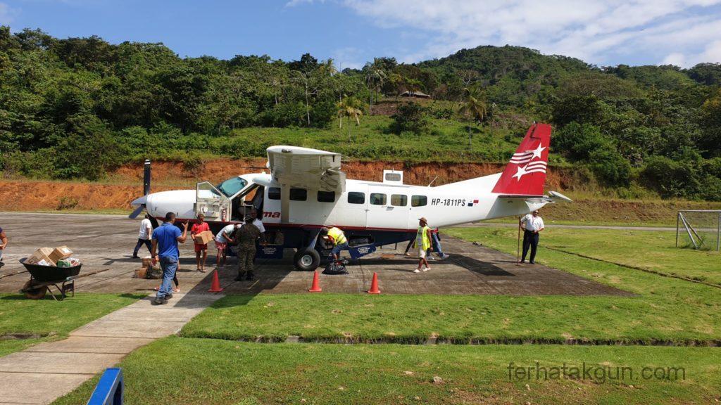 Puerto Obaldia - Das Flugzeug