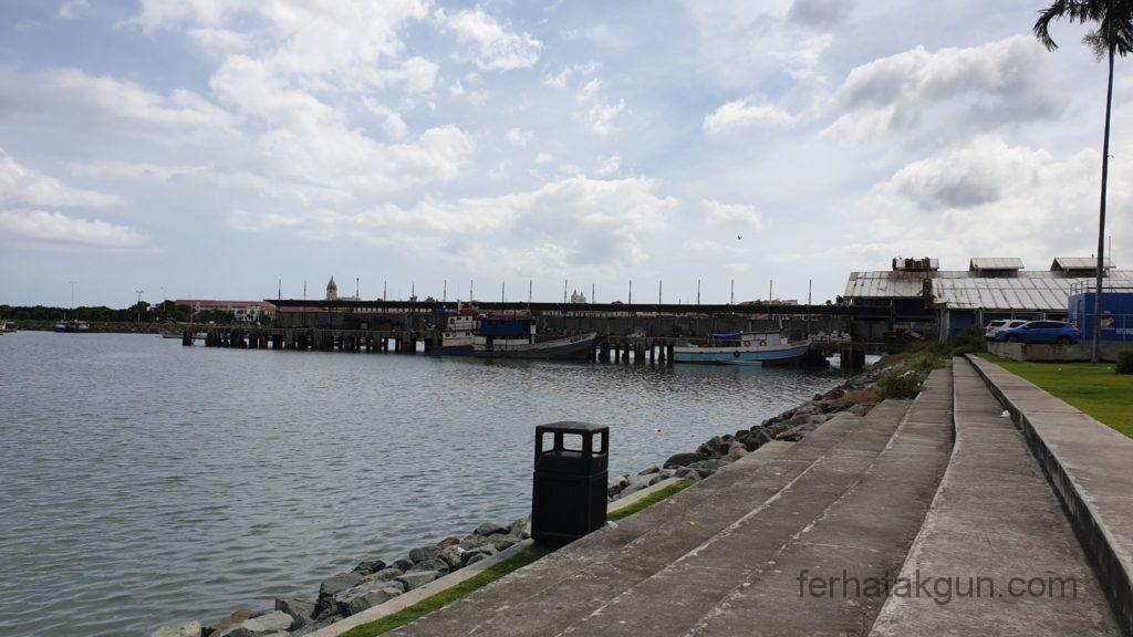Panama City - Auf dem Weg zum Fischmarkt