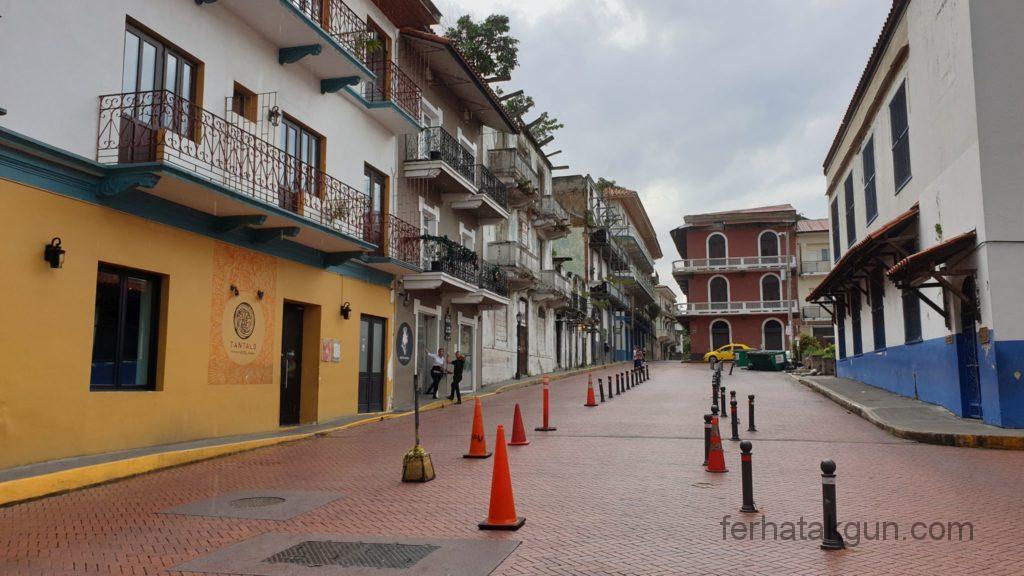 Panama City - Straße in Casco Viejo