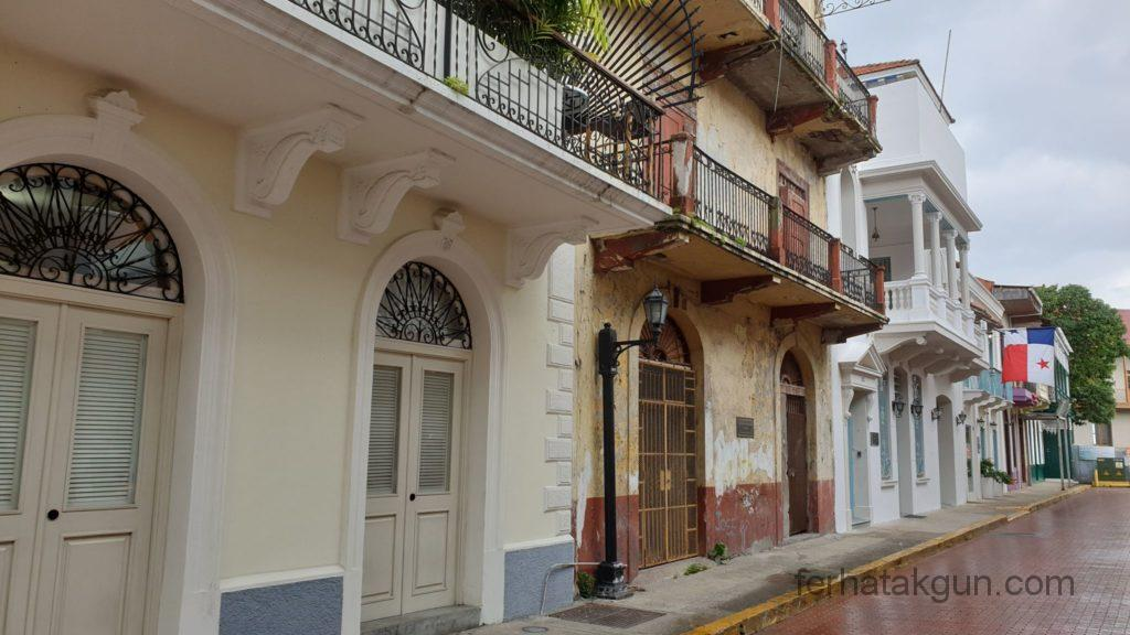 Panama City - Gebäude in Casco Viejo