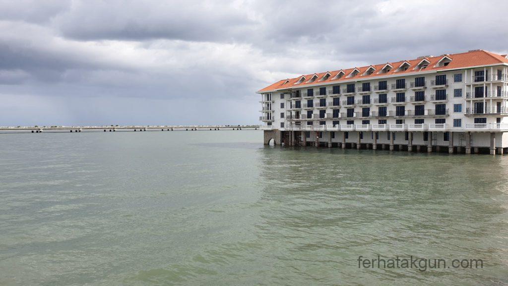Panama City - Gebäude auf dem Wasser